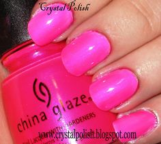 China Glaze Pink Voltage
