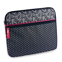 The Pampered Chef® On-the-Go e-Tablet Case — Paisley Dot - The Pampered Chef®