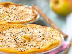 Découvrez la recette Tarte aux pommes en feuille de brick sur cuisineactuelle.fr.