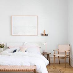 Interior inspiration, soft hues and perfect styling via @nathanandjac