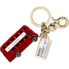 I Love London Red Bus Key Chain Key Ring Key Holder Travel