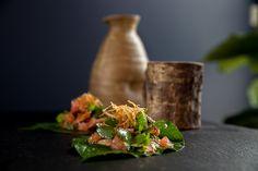 Miang Kham with School Prawns (Betel Leaf Wraps) - Tonic & Soul Prawn, Thai Recipes, Starters, Allrecipes, Leaves, Snacks, Dishes, Fresh, School