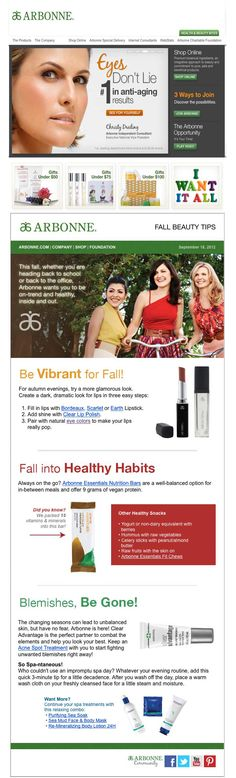 ARBONNE--way more than lipstick. ;)