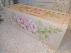 MOST ROMANTIC STORAGE BOX EVER!  Available on Ebay!!  seller ID sunny-sommers Artist D.Sommers