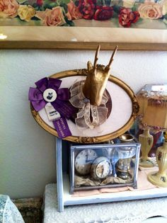 Vintage+Assemblage+Pin+Board+Mounted+Faux+by+Vintagecollectorlove,+$42.00