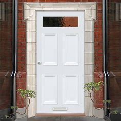 Exterior Victorian Nightingale Made to Measure Door - Fit Your Own Glass - 1 Pane - Lifestyle Image. Timber Door, Traditional Doors, White Doors, Bespoke Design, Nightingale, Back Doors, Tall Cabinet Storage, Victorian, Exterior