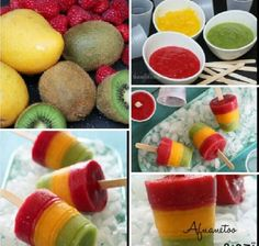 Zelf een ijsje maken op een natuurlijke wijze :) Ziet er lekker en gezond uit!
