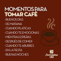 Momentos para tomar café.