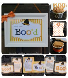 You've Been Boo'd – You've Been Booed -Booing neighbors {Free Halloween Printables}