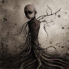 Femme Arbre by monstror on deviantART, Eric Lacombe