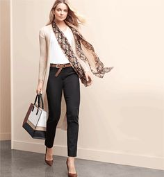 Love this day-time stylish look. #anntaylor #riveroaksshoppingcenter