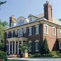See More Beautiful Brick Homes