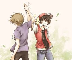 Red, Green and Pika