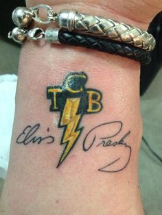 TCB... I like this!!! Maybe a little tweaking but it would be a great tattoo...