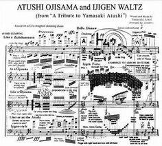 日本人以外理解不能な楽譜