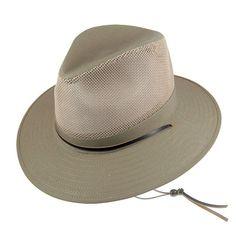 Hattar - Jaxon Vented Aussie Hat (khaki) - Hatshop.se Aussie Hat, Gotham, Victorian, Hats, Fashion, Padua, Moda, Hat, Fashion Styles