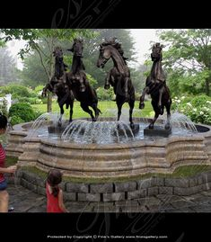 Statuary Marble Fountains | Monumental Fountains | Grand Fountains | Custom Grand and Monumental