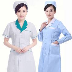 4a54c7b60dc Work Wear & Uniforms · Work wear beauty summer and winter nurse garment  long & short-sleeve doctor clothing white