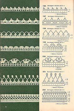 bicos de croche com graficos - Pesquisa Google