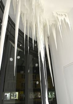 amazing paper icicles