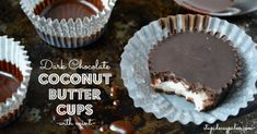 Dark Chocolate Mint Coconut Butter Cups- these claim to be Paleo, and since so many people I love are Paleo or wanna-be-Paleo, it's great to have a stash of recipes.