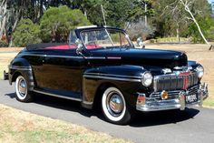 1947 Mercury Eight Deluxe Convertible