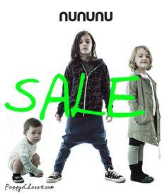 Nununu Baby Kids AW14 SALE // poppyscloset.com