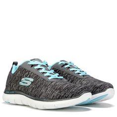 420a33c858e Skechers Women s Flex Appeal 2.0 Wide Memory Foam Sneaker at Famous Footwear  Foams Sneakers