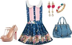 """Bonne Chance 2"" by christinabella on Polyvore"