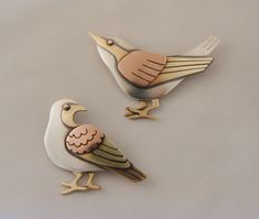 The Jewelry of Ahlene Welsh - Bird Pins