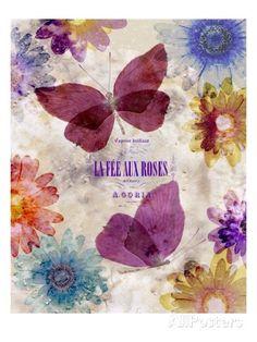Fleur De Papillion 2 Impressão giclée por Morgan Yamada na AllPosters.com.br
