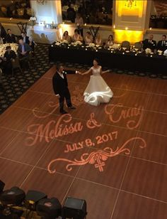 First Dance for Melissa and Craig. Thank you Tony from Holiday Sounds for this great arial shot.