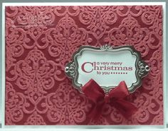 Cherry Cobbler Core'dinations by darhm - Cards and Paper Crafts at Splitcoaststampers