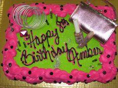 Amber's 8th Birthday cake
