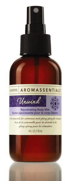Aromassentials Unwind Rejuvenating Body Mist www.magdalenasobanska.arbonne.com