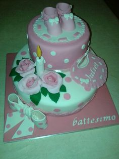 torta battesimo juliet