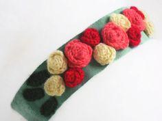 Retro Elegant Headband Floral Romantic Accessory  by MoonyDolls, €16.00