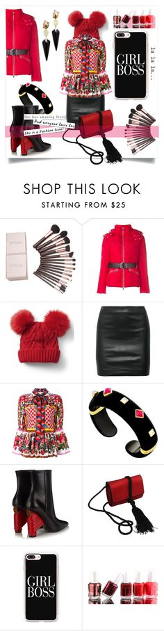 """""""Perfect Puffer Jackets"""" by kari-c ❤ liked on Polyvore featuring Gap, The Row, Dolce&Gabbana, Balenciaga, Salvatore Ferragamo, Casetify, Essie, Alexis Bittar and puffers"""