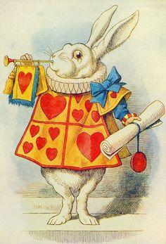 The white Rabbit by John Tennial