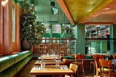 Studio Modijefsky reflects tropical scenery at Bar Botanique - News - Frameweb
