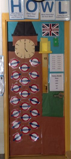 London themed classroom door decor teacher approved for Decoration theme angleterre