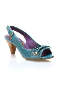 Jump Patrice Pumps In Blue