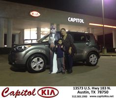 https://flic.kr/p/F8w6sv | Happy Anniversary to Yolanda on your #Kia #Soul from Ivan Rodriguez at Capitol Kia! | deliverymaxx.com/DealerReviews.aspx?DealerCode=RXQC