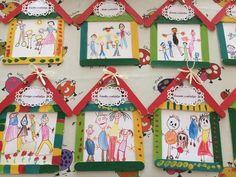 Read more about preschool crafts Art N Craft, Craft Stick Crafts, Diy And Crafts, Crafts For Kids, Arts And Crafts, Preschool Family Theme, Family Crafts, Preschool Activities, Family Activities