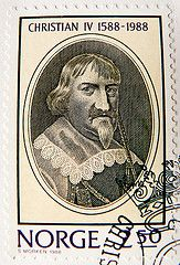 Norway Stamp - King Christian IV 1577-1648