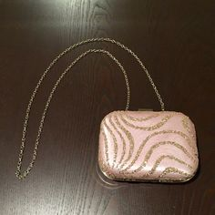 Lulu Townsend Purse Hard sided evening bag. Cross body chain can hide inside purse to turn into clutch. Lulu Townsend Bags Crossbody Bags