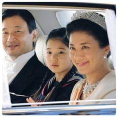 Imperador Akihito, Michiko Shoda e filha