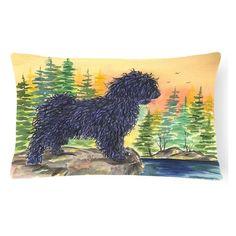 Carolines Treasures Puli Rectangle Decorative Outdoor Pillow - SS8347PW1216