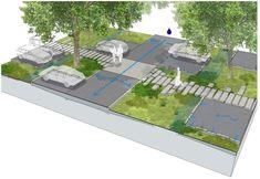 Parking Space, Parking Lot, Car Parking, Car Park Design, Parking Design, Architecture Plan, Landscape Architecture, Landscape Design, Urban Design Diagram