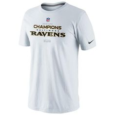 Baltimore #Ravens 2012 AFC Champions Locker Room Nike Trophy Collection Tee. Click to order! - $27.99